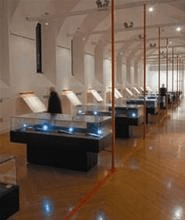 Kundetilpassede Monter for museum