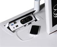Intergrere El/data Power Boxen med VGA, HDMI
