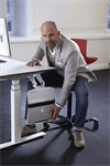 Datorholdere TwistIT uten glideskinner