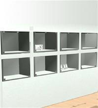 Kundetilpassede Innbygde glassmontere