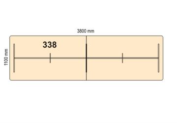 Vigg Møtebord Bord 338