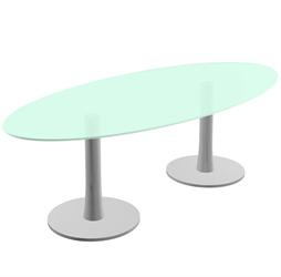 Quadrio Møtesbord Quadrio glassbord 03
