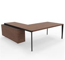 X9 Skrivebord X9 skrivebord helt i finér