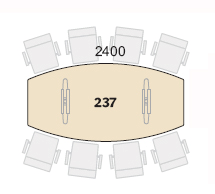 Connect Møtesbord Bord 237