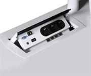 Intergrere El/data Power Boxen med USB, VGA, HDMI